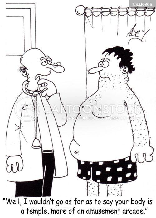 health and wellbeing cartoon