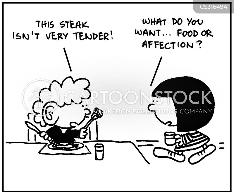 tenderize cartoon