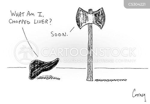 chopped liver cartoon