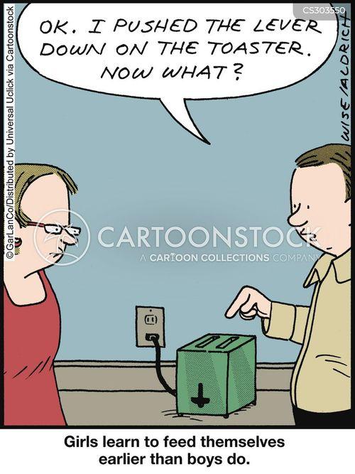 toasted cartoon