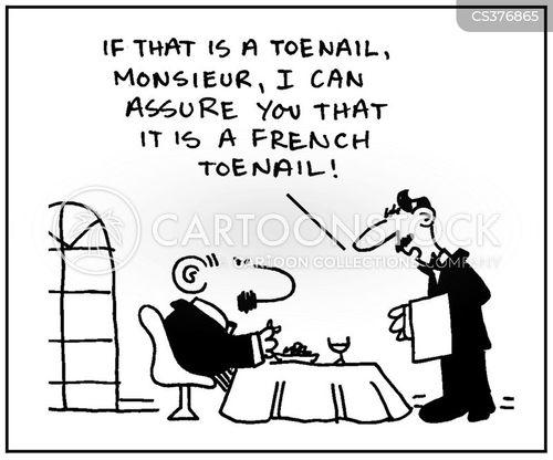 toenail cartoon