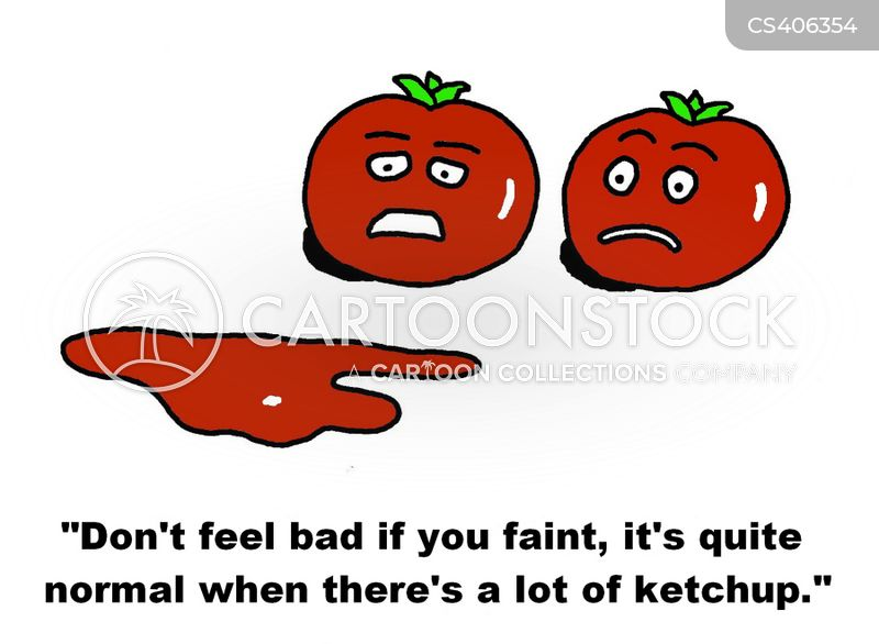 tomato sauce cartoon