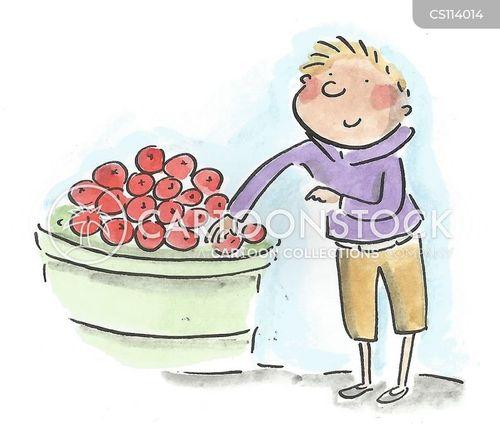 fruit portions cartoon