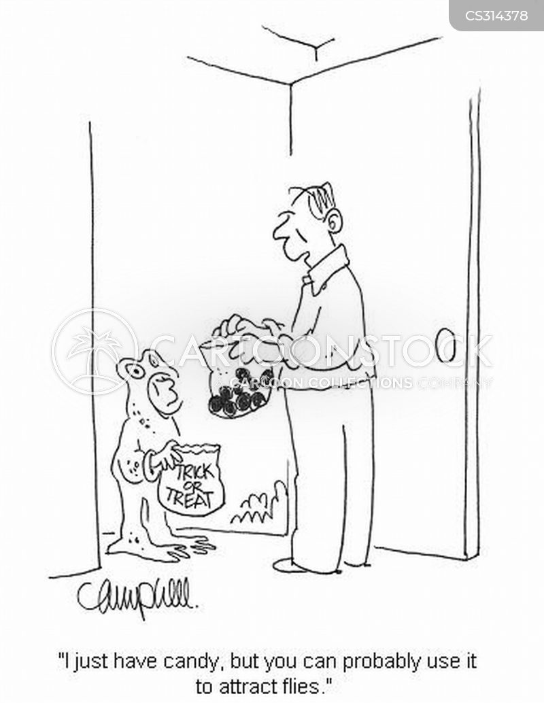 trick or treats cartoon