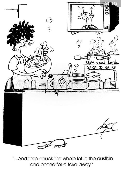 tv chefs cartoon