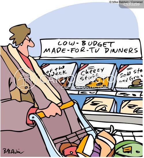 low-budget cartoon