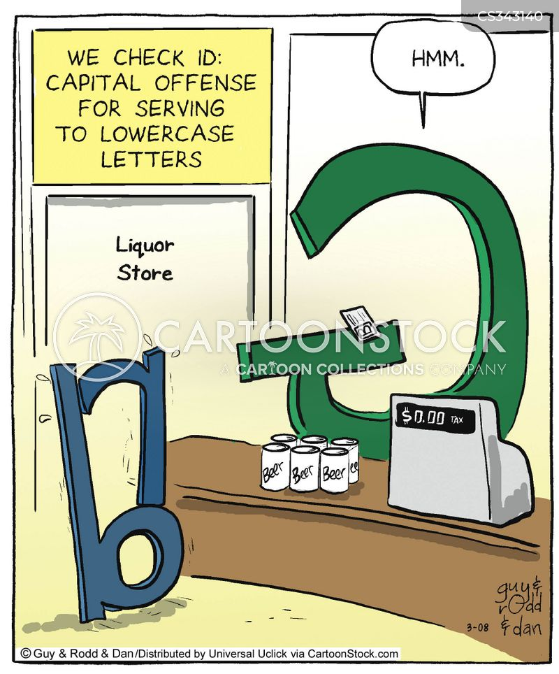 capital offence cartoon