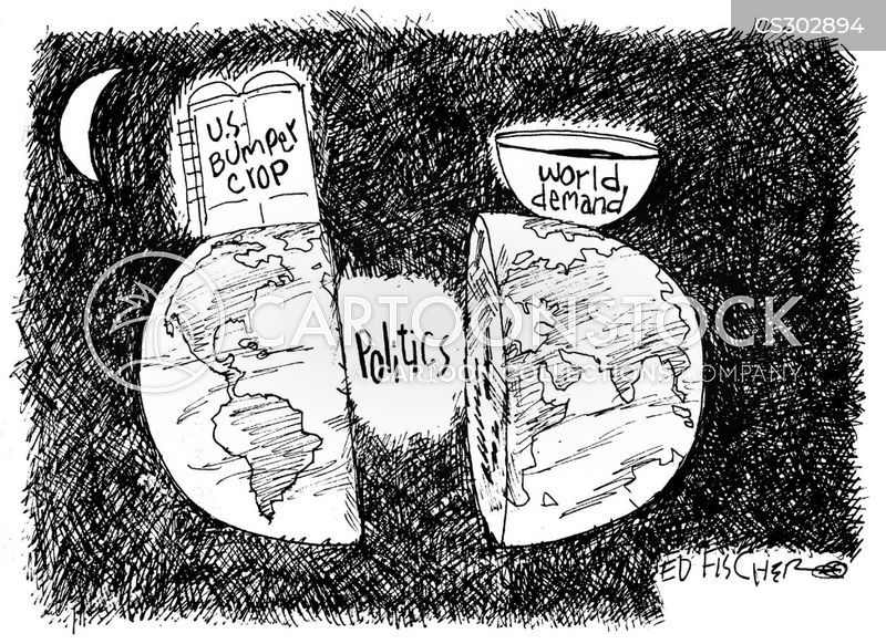 food security cartoon