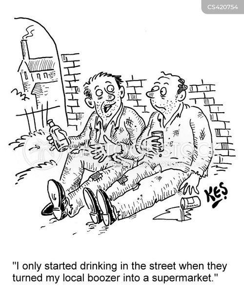 local pub cartoon