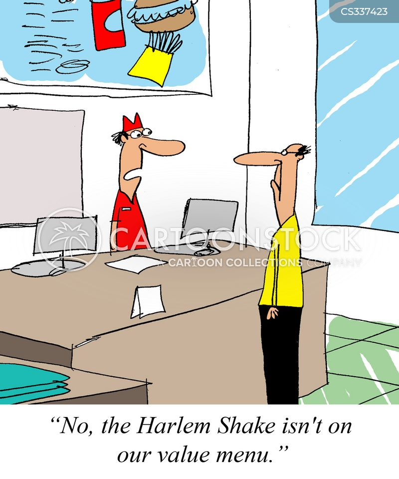 harlem shake cartoon