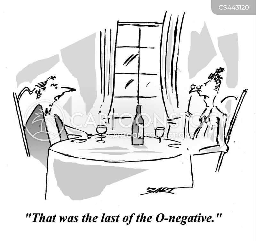 o-negative cartoon