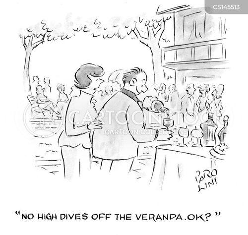 veranda cartoon