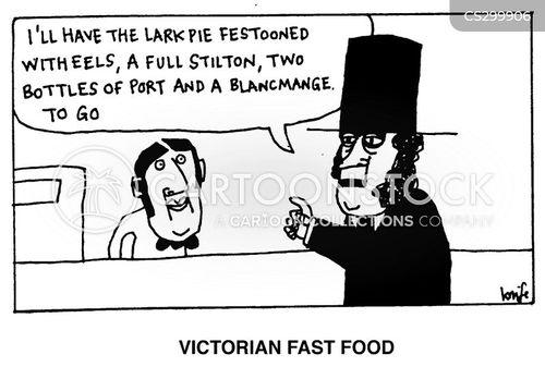 old england cartoon