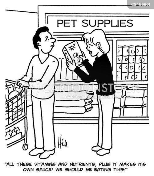 nutritional info cartoon