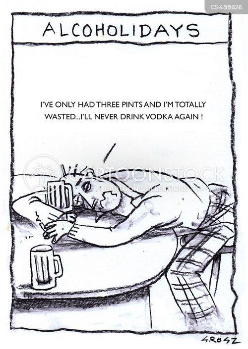 vodkas cartoon