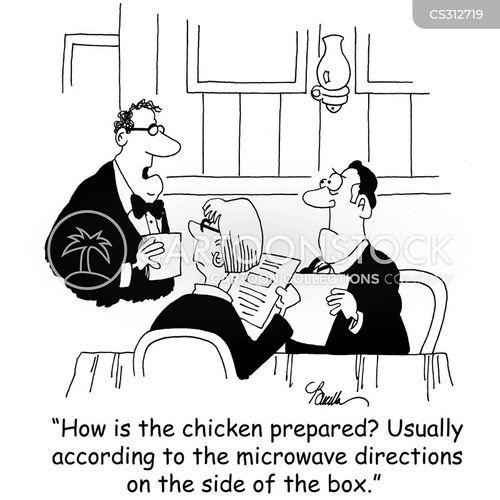 convenience foods cartoon