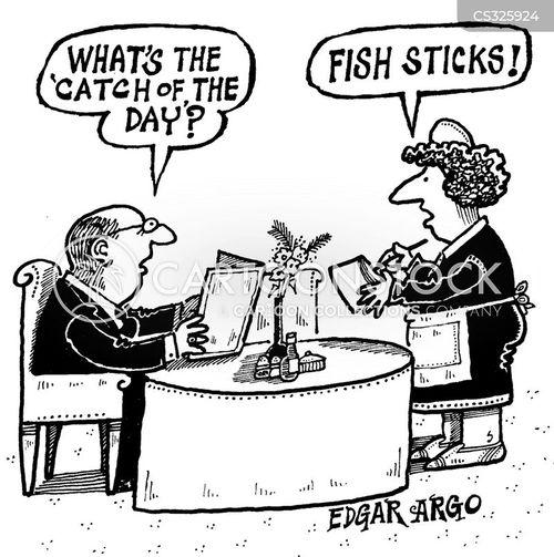 fish stick cartoon