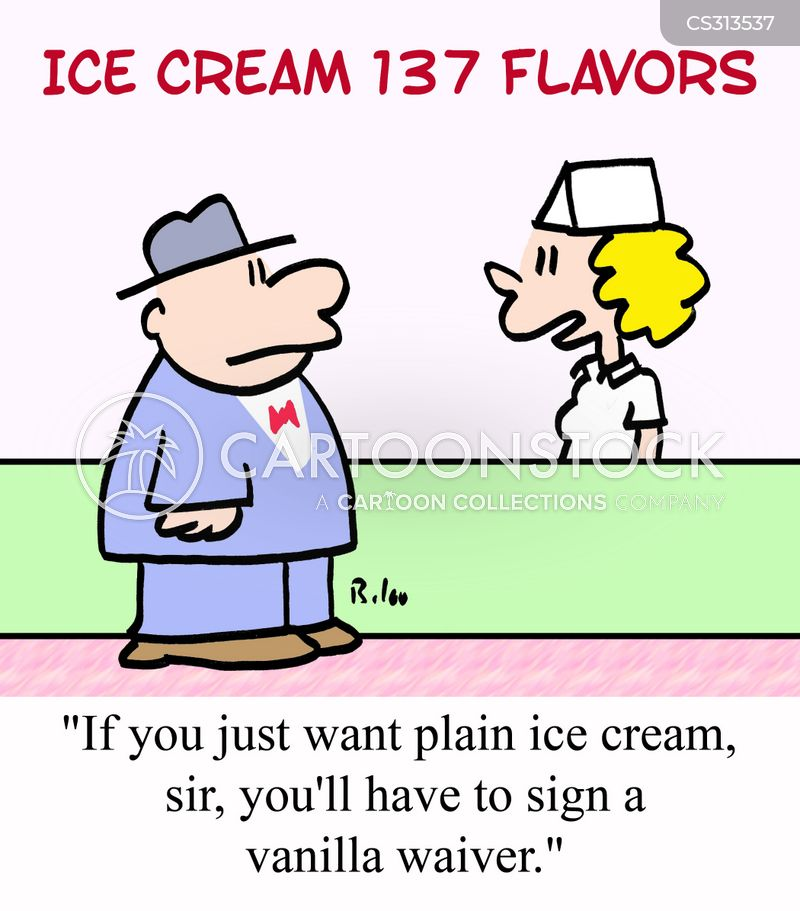 ice cream parlor cartoon