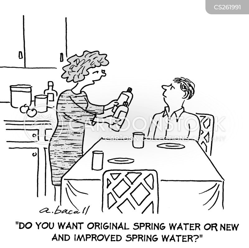 tap water cartoon