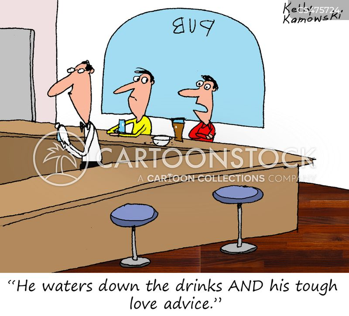 watered down cartoon