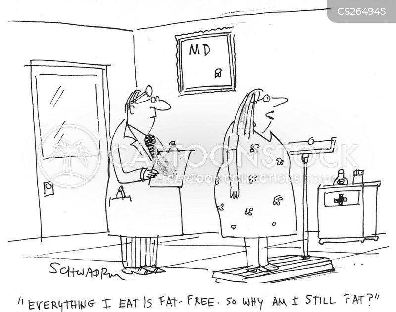 fat-free cartoon