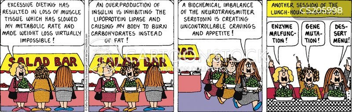 health nut cartoon