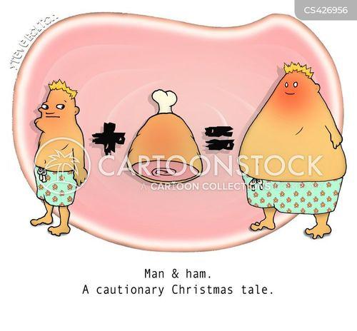seasonal foods cartoon