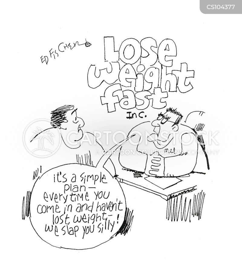 diet program cartoon
