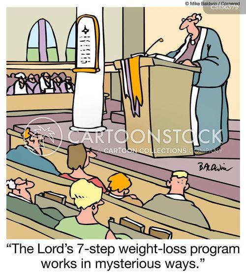 seven step program cartoon