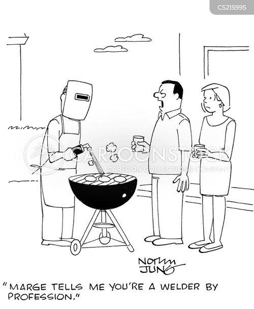 welders cartoon