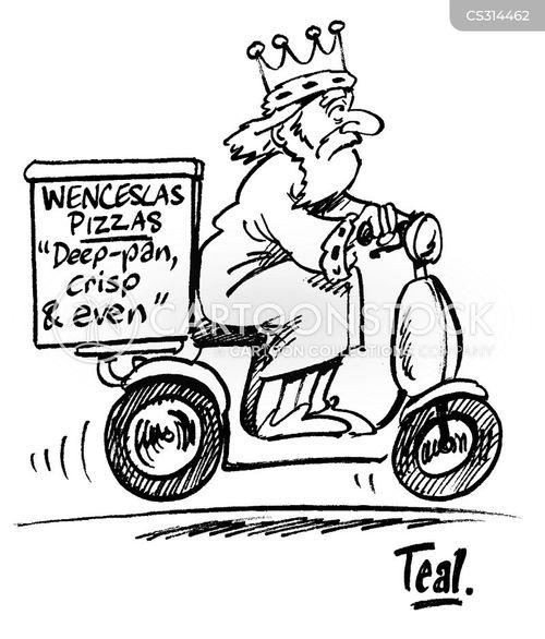 good king wenceslas cartoon