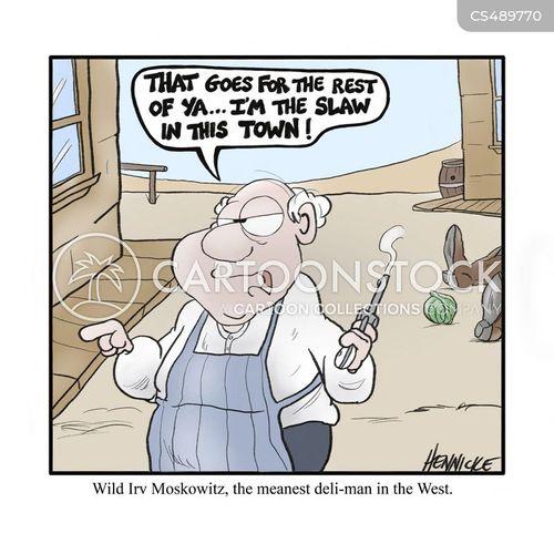 gun-slinger cartoon