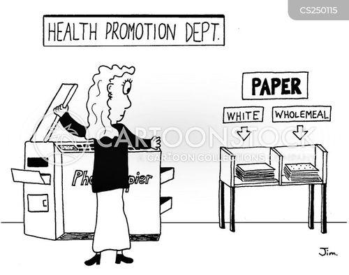 Health Promotion Pamphlet Brochure
