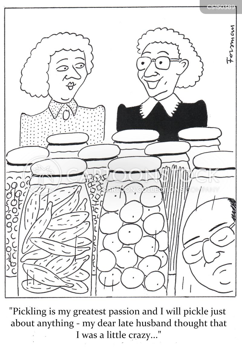 pickles cartoon