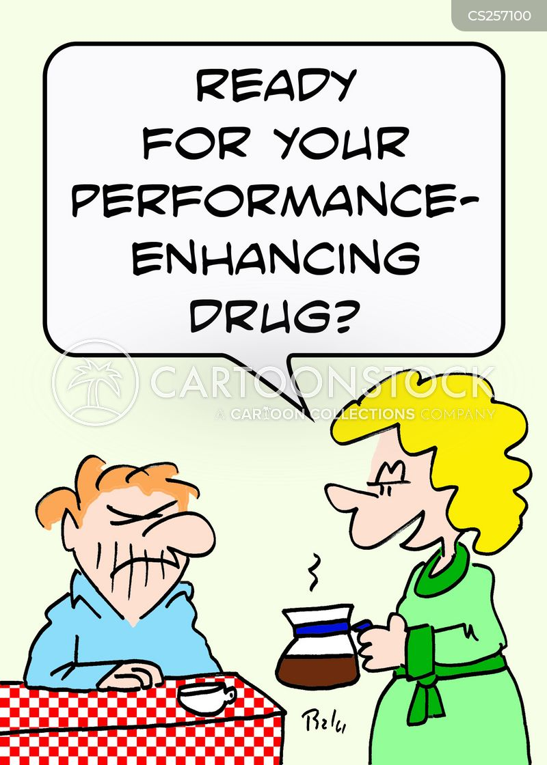 performance-enhancing cartoon