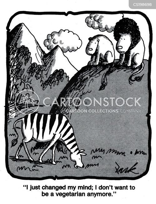 carnivorous cartoon