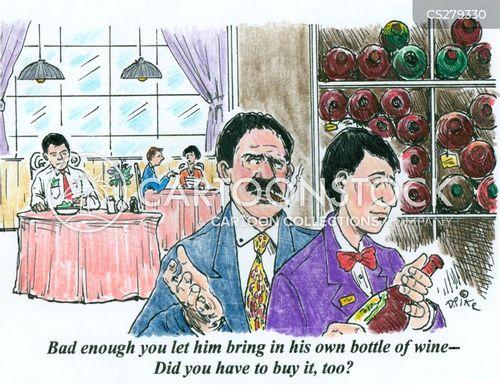 burgundy cartoon
