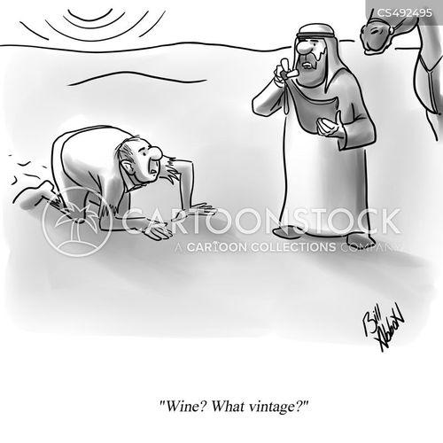 somelier cartoon