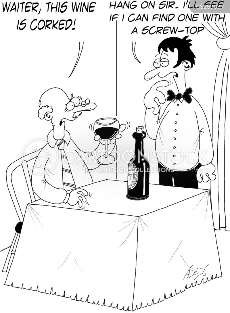wine buff cartoon