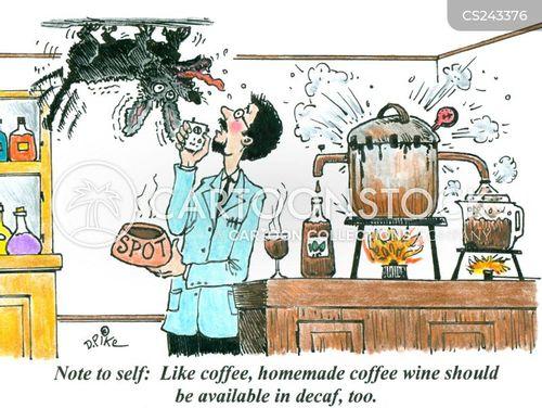 agitated cartoon