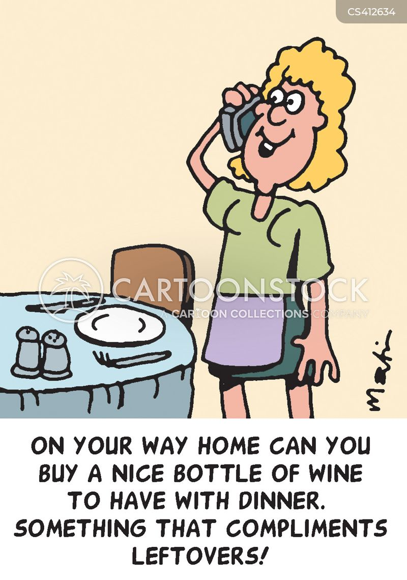 house-wife cartoon