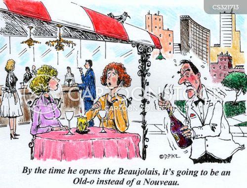 beaujolais cartoon