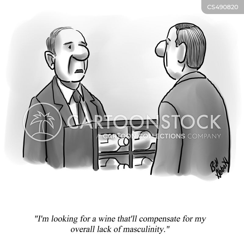 wine drinking cartoon