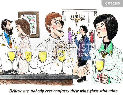 glass eye cartoon