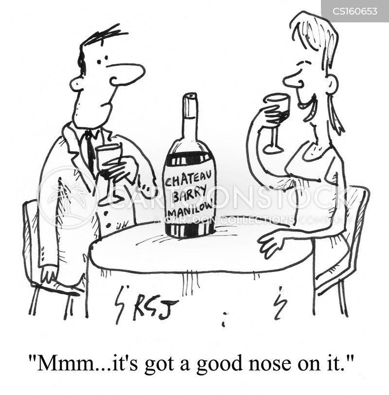 big nose cartoon