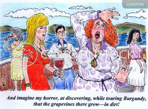 grapevine cartoon