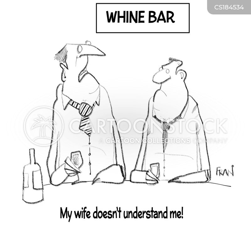whines cartoon