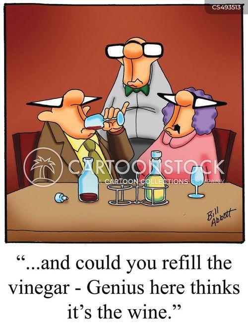 vinegars cartoon