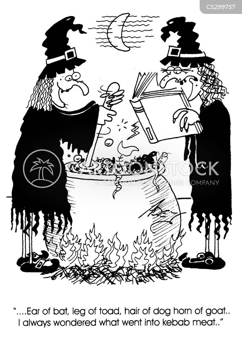 Witches Spell Cartoons Witches Spell Cartoon Funny