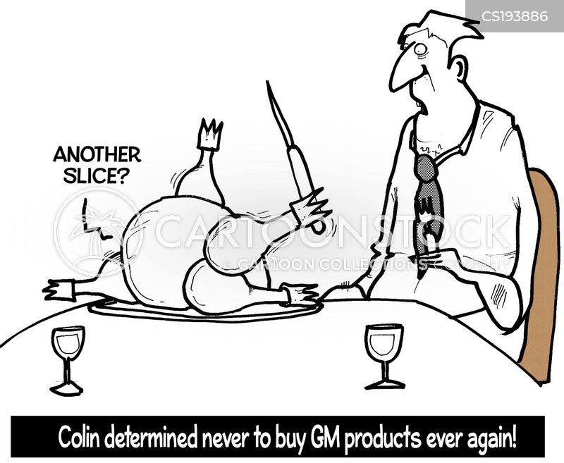 gm products cartoon